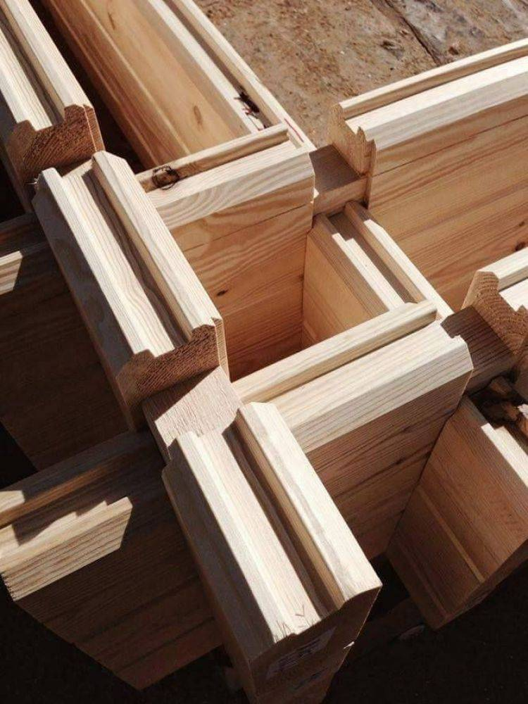 Правила постройки дома из двойного бруса