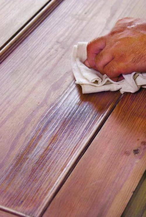 Пропитка древесины внутри помещения