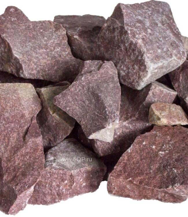 Выбираем камни для бани: кварц, жадеит, профирит, талькохлорит, диабаз
