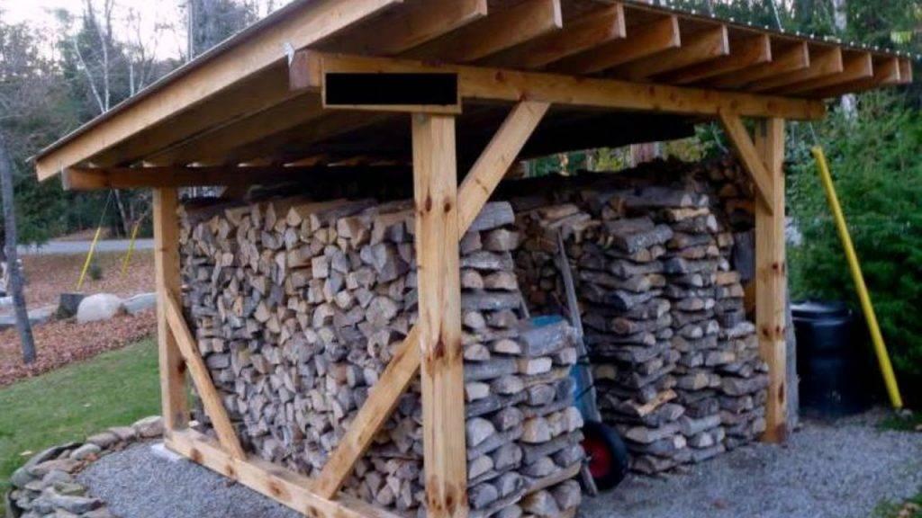 Дровницы для каминов и печей - варианты и самостоятельное изготовление.