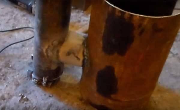 Печь из газового баллона с варочной плитой и водонагревателем - самоделкин друг