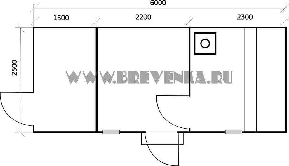 Строим баню с бассейном под одной крышей: проекты с хозблоком, сараем и санузлом