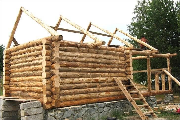 Из чего делают бани: материал для стен