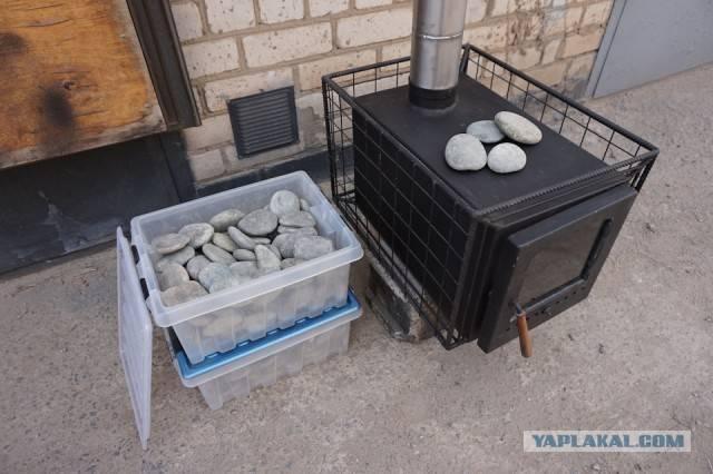 Печь для походной бани: самодельные и покупные мобильные печи