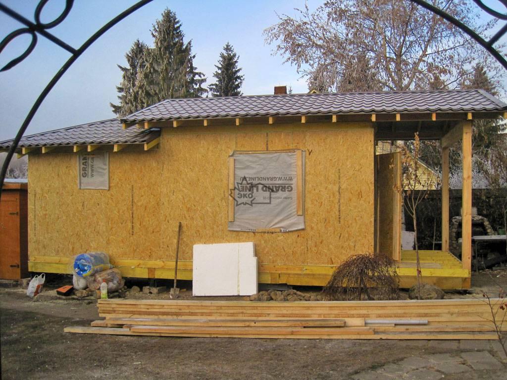 Дома и бани из сип панелей: особенности и технология строительства своими руками