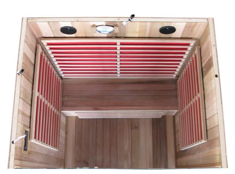 Оборудование для инфракрасной сауны: обогреватели, ик печи для бани, излучатели, лампы, комплекты нагревателей, фото и видео