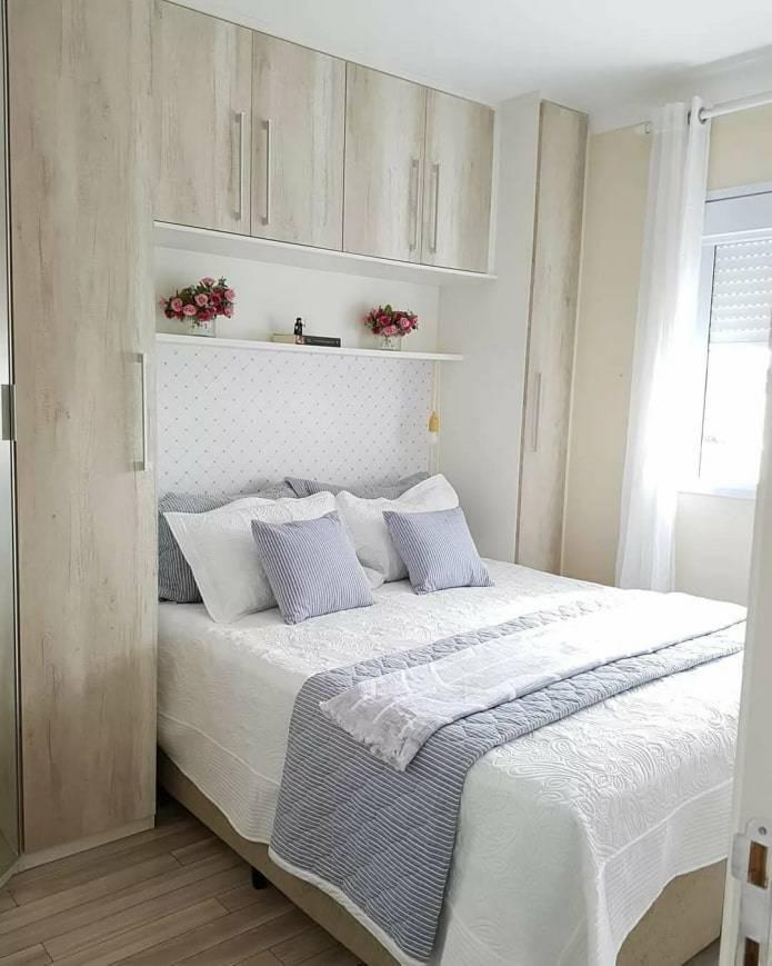 Дизайн спальни маленького размера: идеи оформления