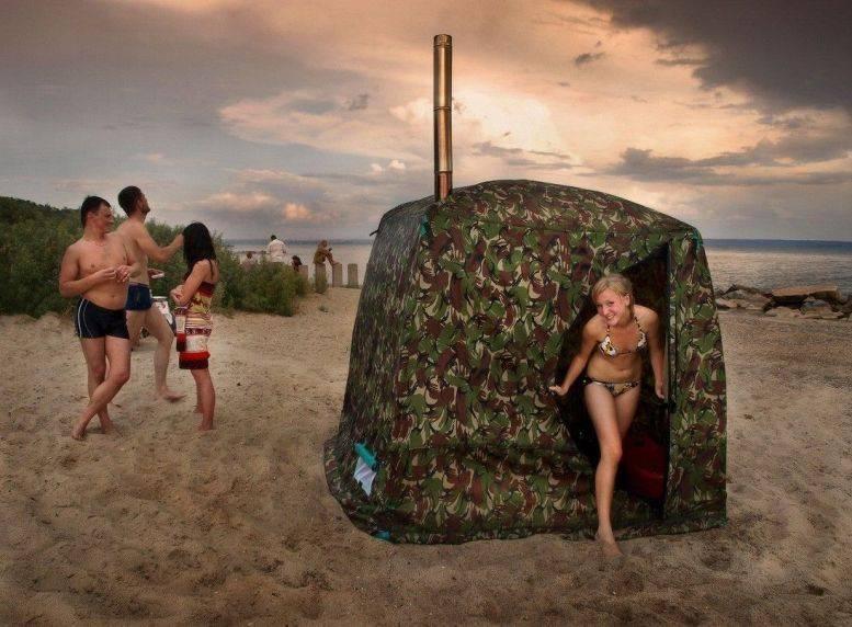 Мобильная баня-палатка морж, цена, фото, видео, зимняя палатка — купить в москве мобильную баню и зимнюю палатку морж