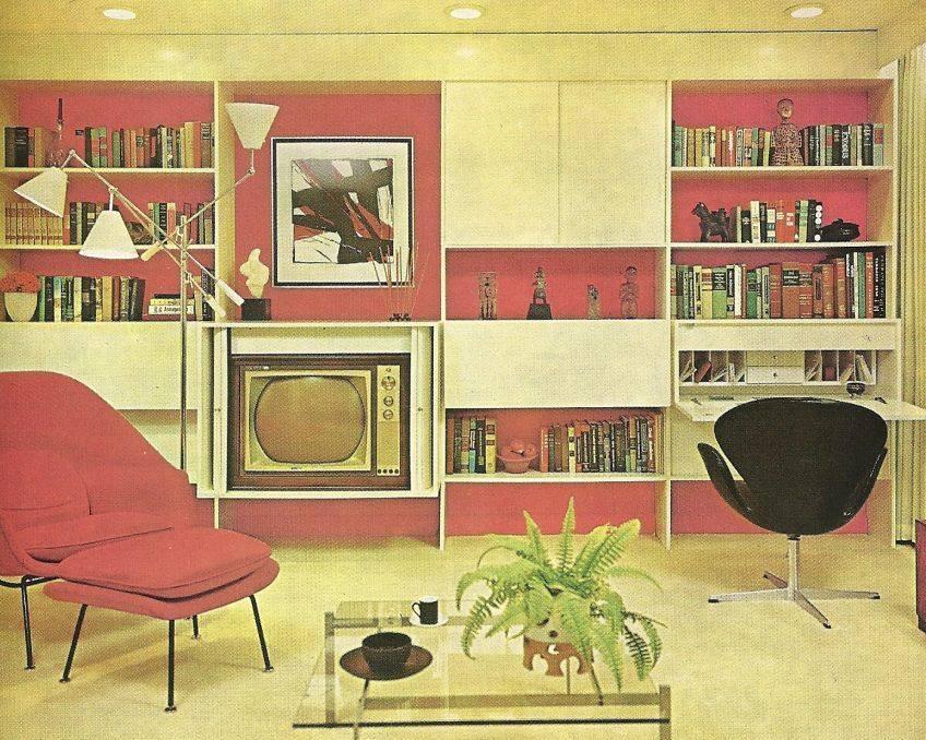 Советский стиль интерьера +75 фото и исторических примеров