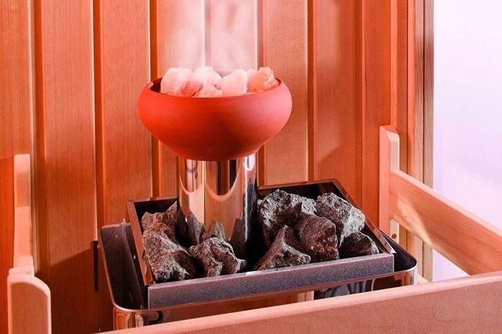 Соляные брикеты для бани и сауны