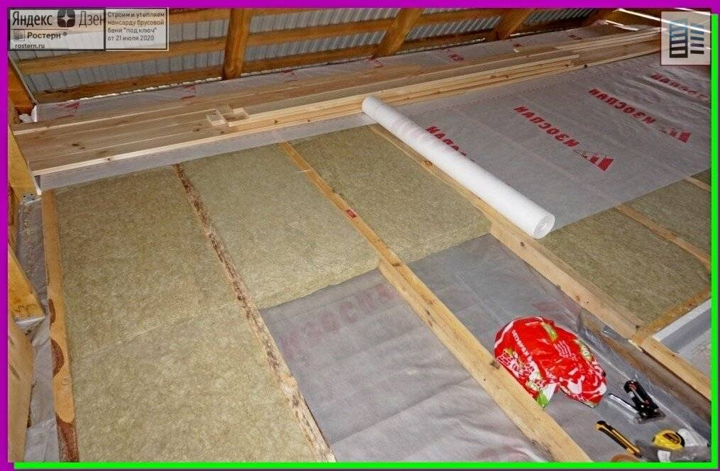 Как утеплить бетонный пол в частном доме своими руками: 3 способа + инструкции