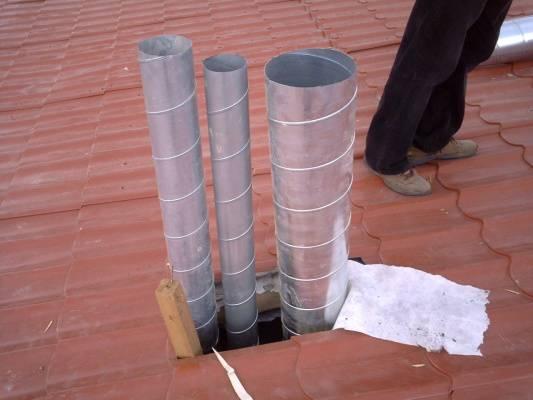 Асбестовая труба для дымохода: можно ли использовать и как установить