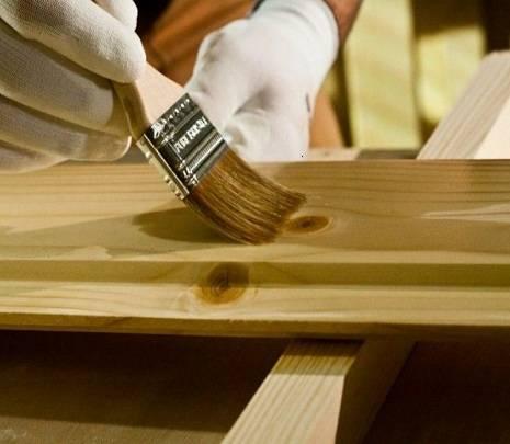 Покраска под дерево - выбор материала и инструментов, подготовка и нанесение
