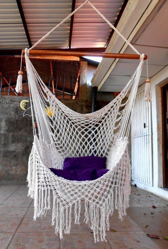 Гамак своими руками макраме: схема подвесного кресла, плетение и мастер-класс, техника как сплести и связать как сделать гамак-макраме своими руками: 2 способа – дизайн интерьера и ремонт квартиры своими руками