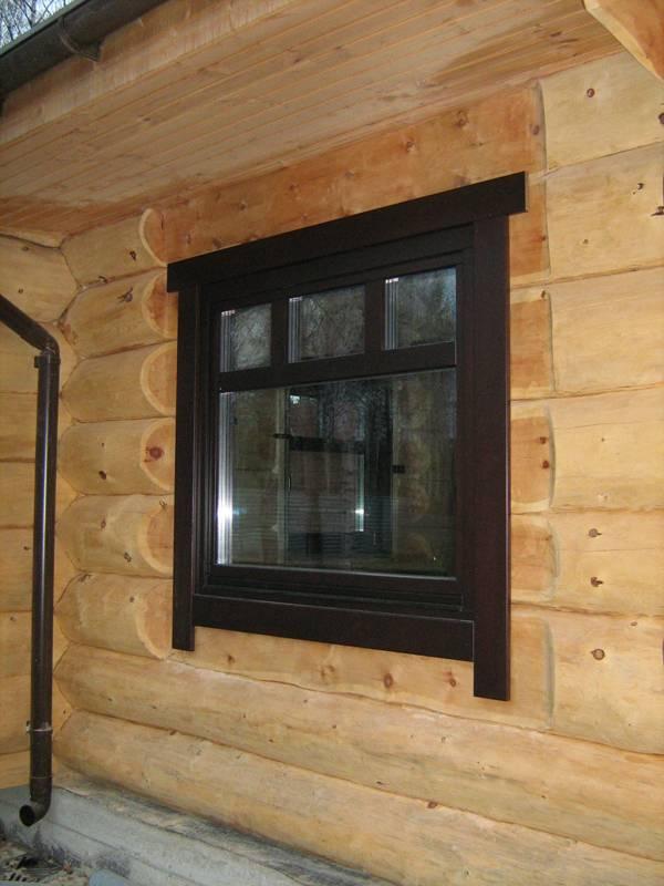 Окна для бани - деревянные или пластиковые лучше?