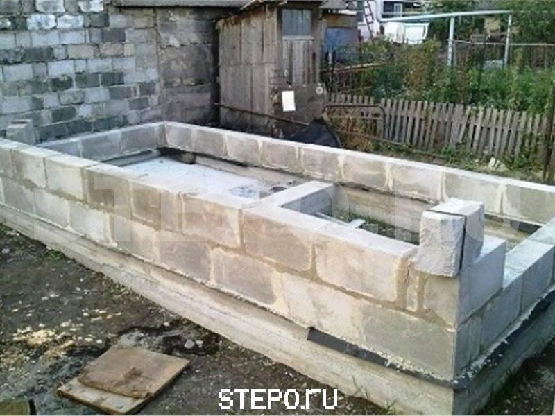 Баня из шлакоблока своими руками - как построить   стройсоветы
