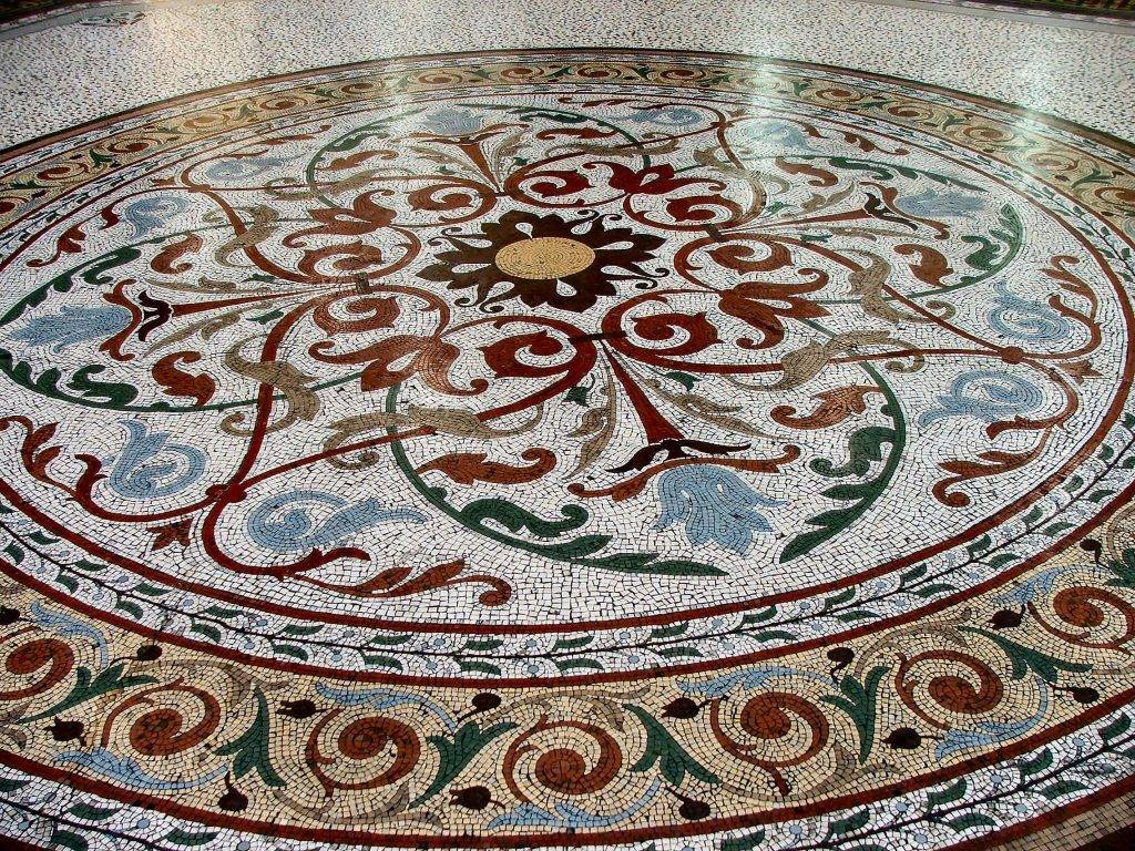 Тонкости укладки мозаики