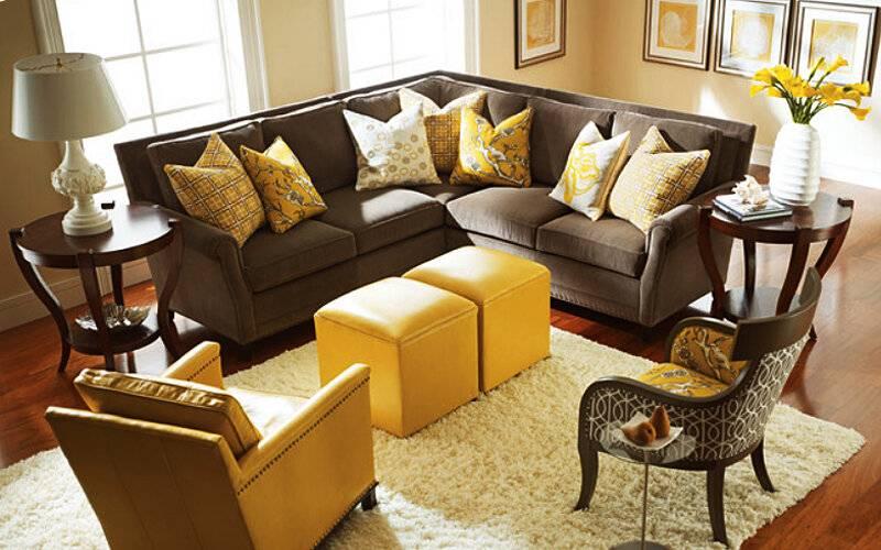 Цвет дивана - самые оригинальные идеи для оформления дизайна!