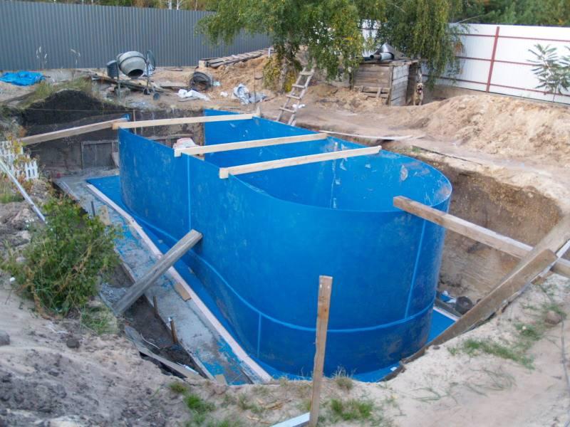Бассейн из полипропилена своими руками: необходимые инструменты и материалы, пошаговая инструкция, установка