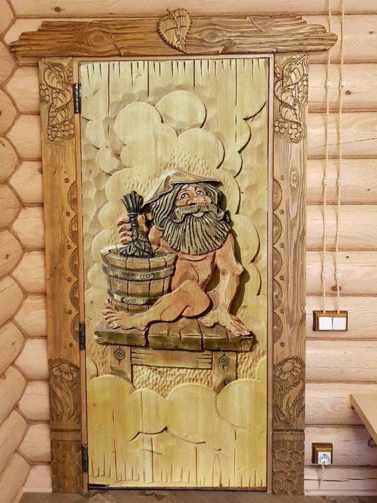 Рисунки на дверях — эффектный способ декора