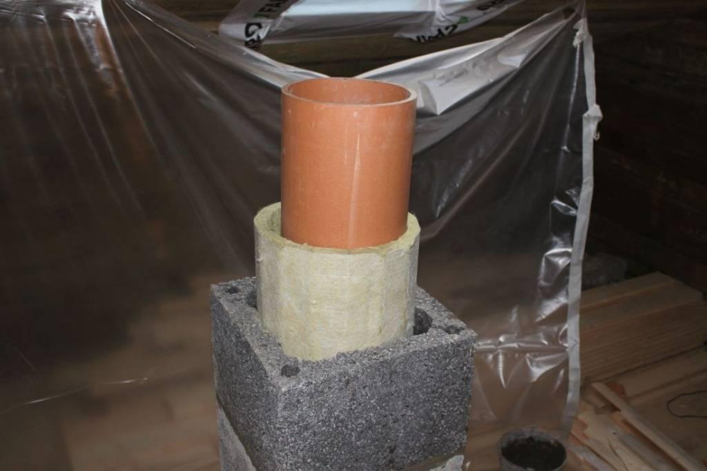 Асбестовые трубы для дымохода: диаметр асбестоцементных труб для газовых котлов. можно ли ставить их в бане? как установить их на кирпичный дымоход?