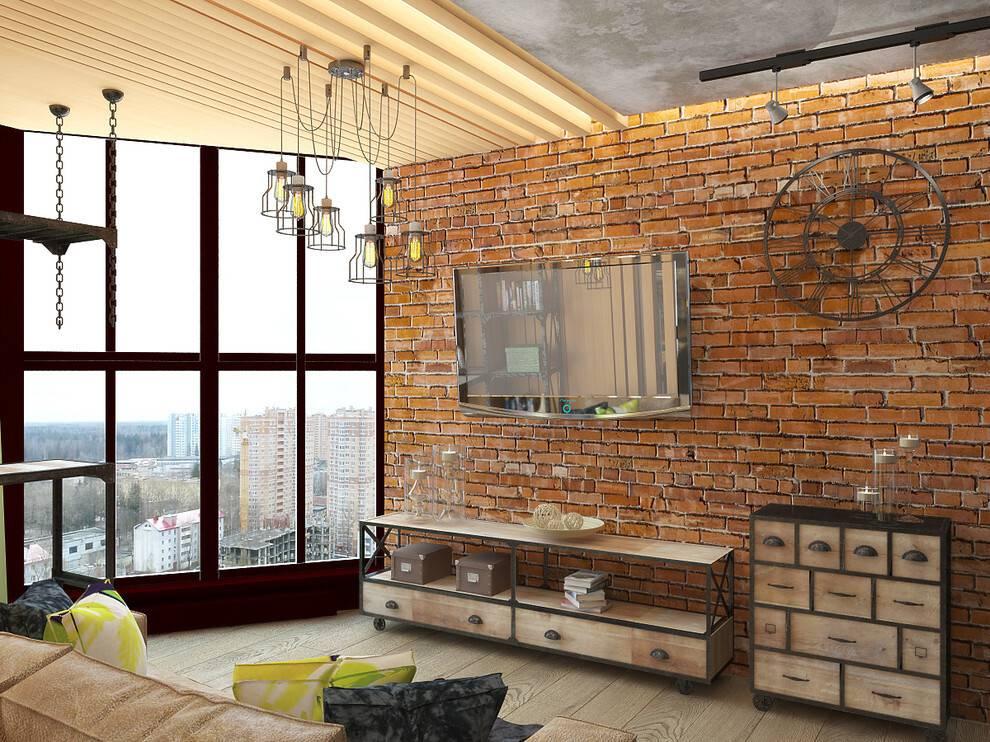 Бетон в интерьере лофт: бетонные стены, отделка венецианской штукатуркой и декоративной шпаклевкой под бетон