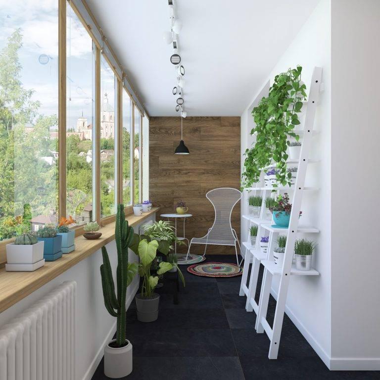 Балкон в скандинавском стиле: оформление сканди лоджии