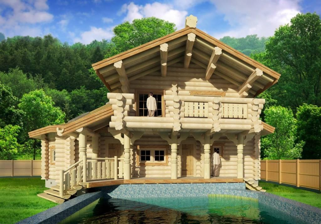 Гостевой дом и баня: как правильно построить