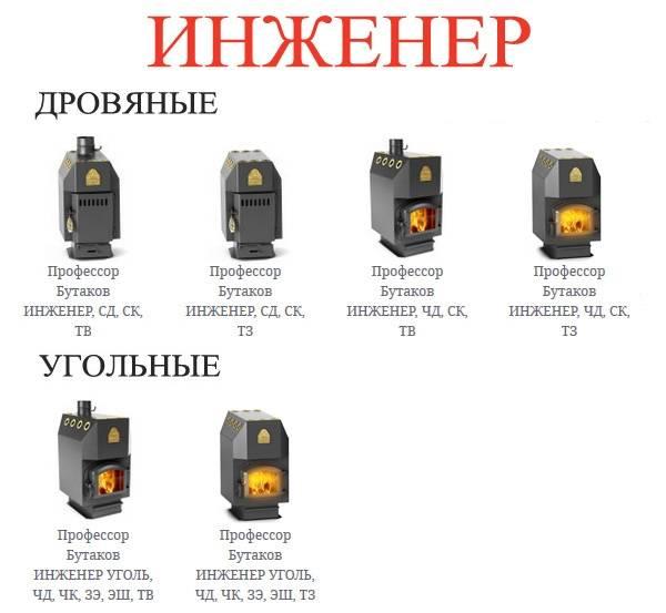 Печь бутакова: обзор и способы монтажа