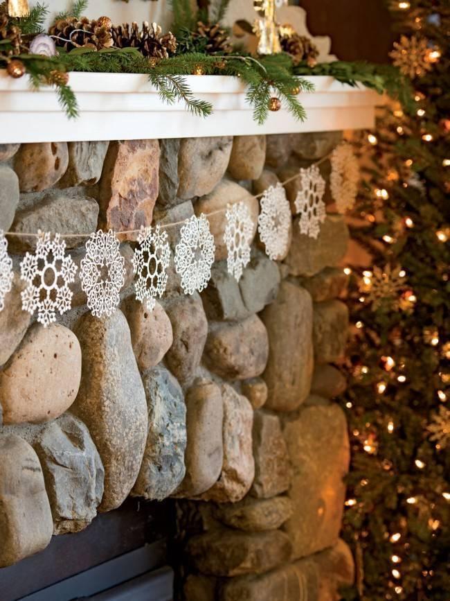 Как украсить баню к Новому году: идеи на фото