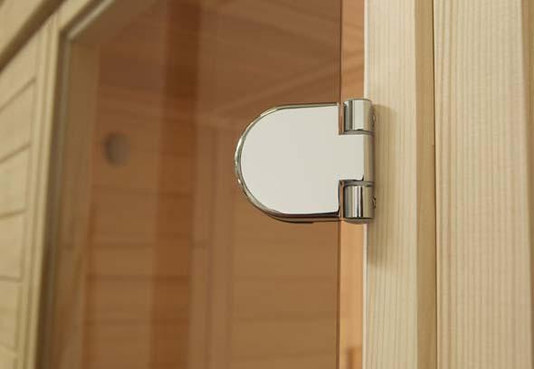 Стеклянные двери для сауны и бани: как выбрать, сделать, установить