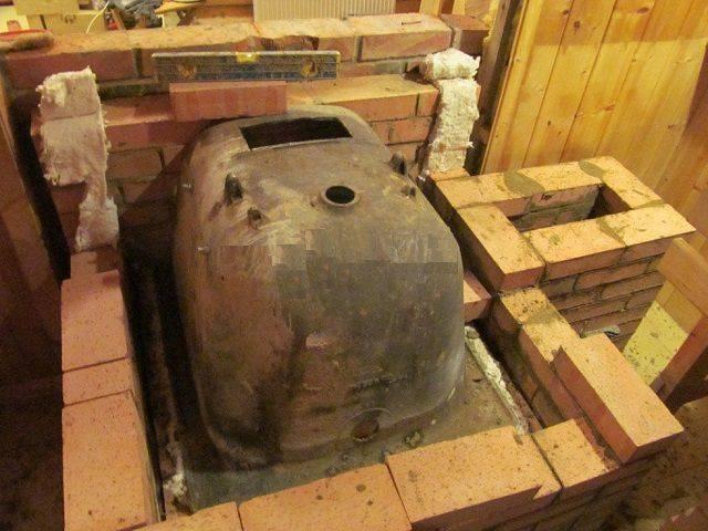 Печь из старой чугунной ванны своими руками: пошаговая инструкция