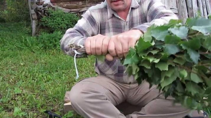 Как вязать веники для бани: инструкция для начинающих