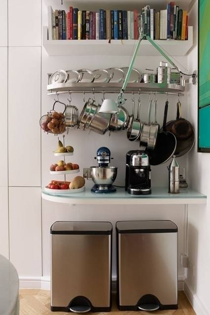 25 оригинальных идей для кухни, чтобы оптимизировать пространство