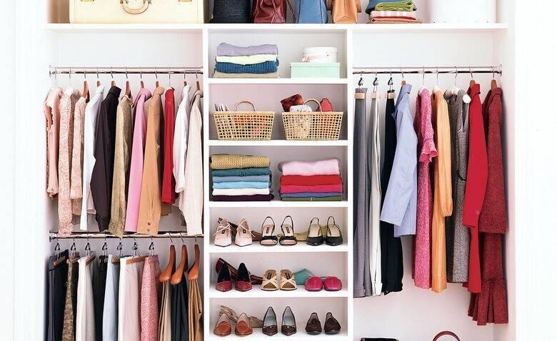 Организация хранения вещей в шкафу: методы, приспособления, лайфхаки