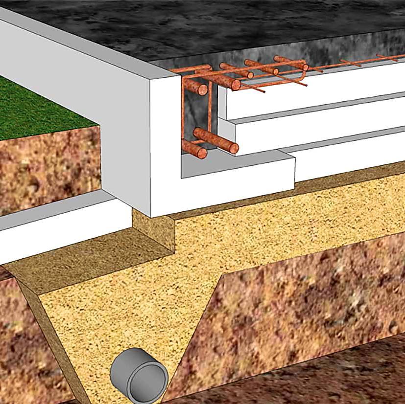 Плавающий фундамент - самостоятельное поэтапное строительство (видео)