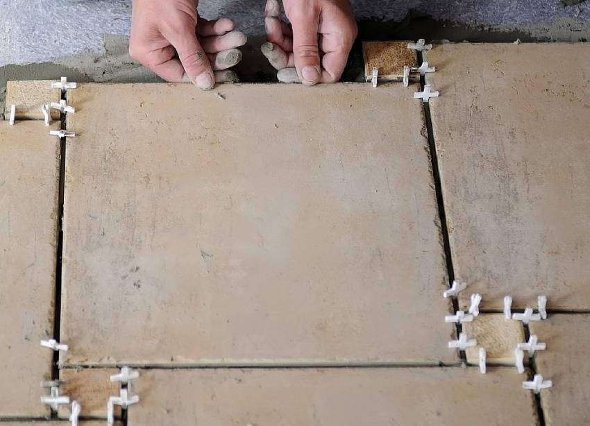 Крестики для плитки: виды, использование, как выбрать правильный размер
