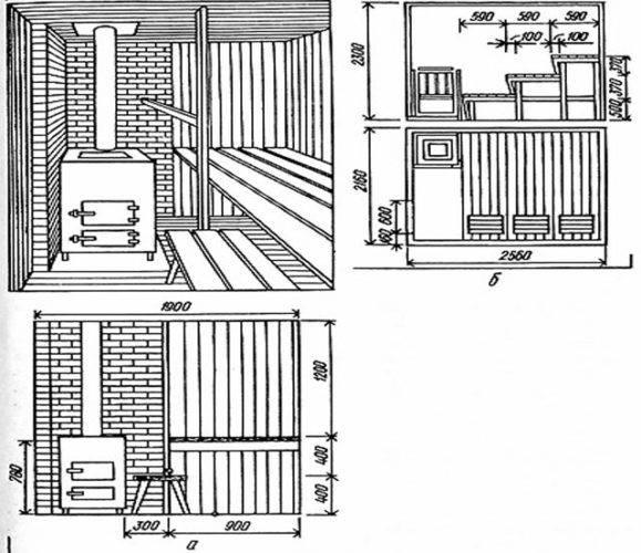 Оптимальная высота потолка в бане: 4 совета по выбору