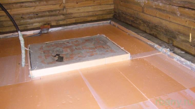 Как утеплить пол в бане своими руками – утепление деревянных и бетонных полов