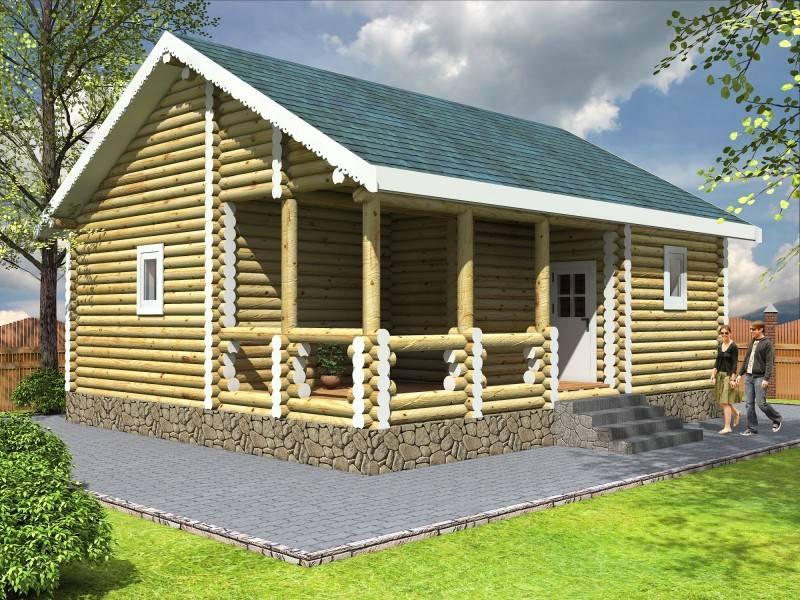 Баня с беседкой: проекты совмещения под одной крышей двух разных помещений (85 фото)