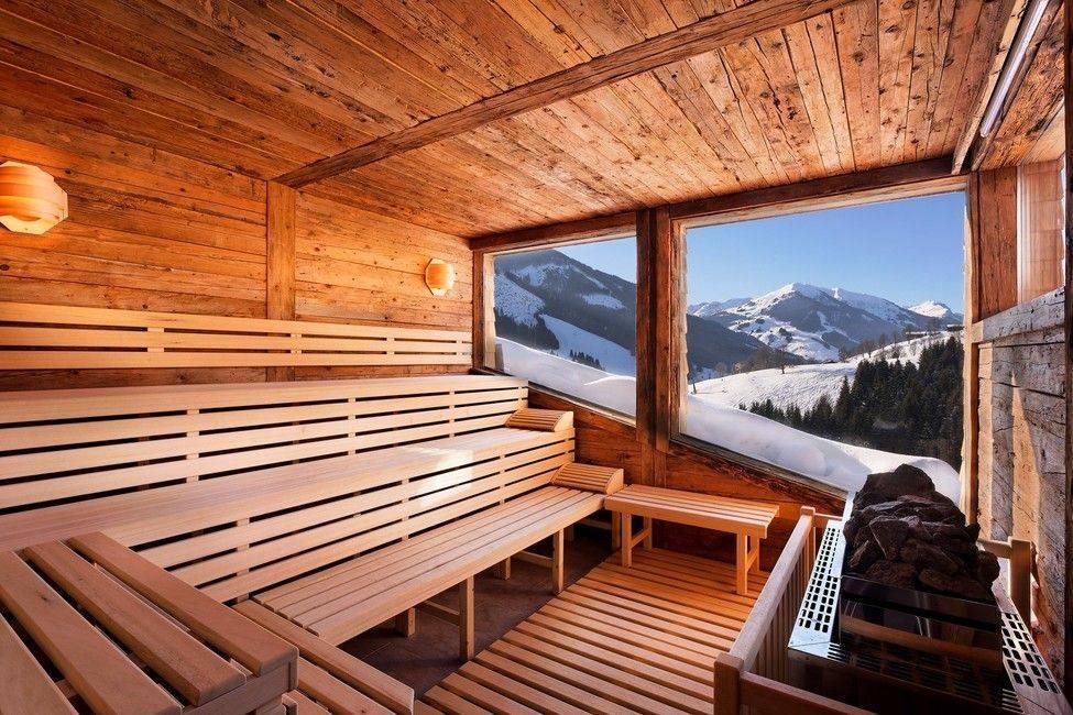 Баня с панорамными окнами - проекты, материал для рамы