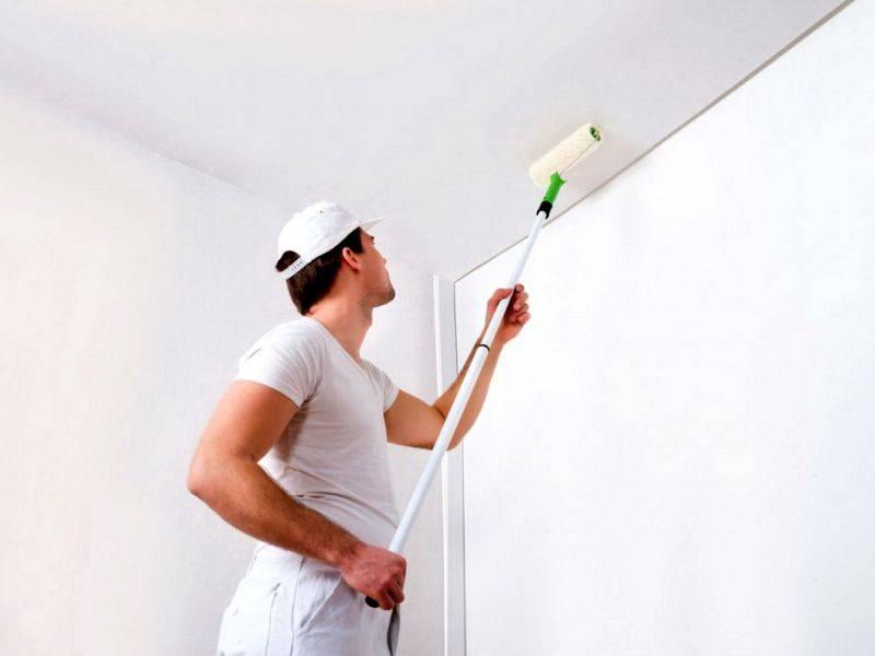 Как снять краску со стен (акриловую и другую) своими руками: как и чем быстро убрать старое покрытие, как удалить покраску под поклейку обоев и т.д.