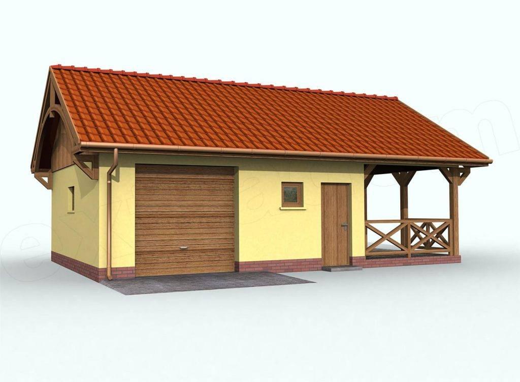 Проекты и особенности совмещения гаража с баней под одной крышей, как сделать своими руками