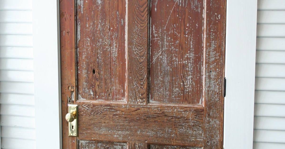 Что делать если повело деревянную дверь? - все про мебель