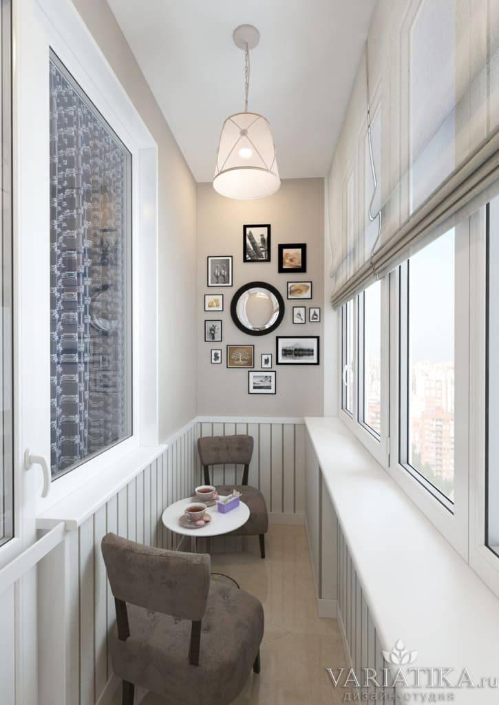 Интерьер балкона в скандинавском стиле: подборка фото