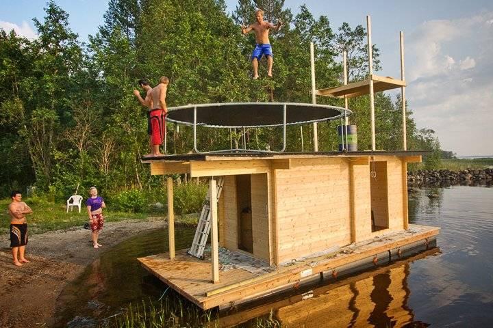 Баня как бизнес: выгодно ли это. плавучая баня: особенности конструкции на воде, преимущества и технология возведения
