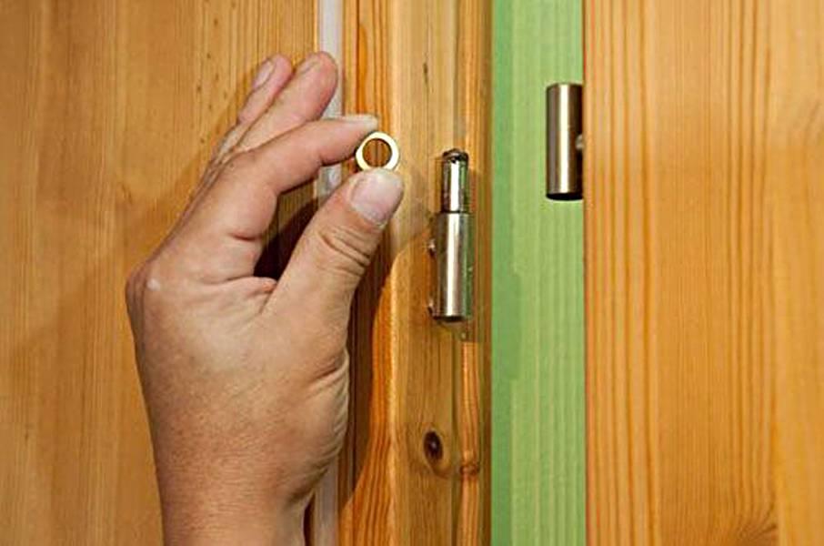 Что делать, если заклинило дверь в квартире? советы мастера.