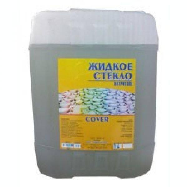 Жидкое стекло с цементом пропорции — раствор жидкого стекла, цемент песок