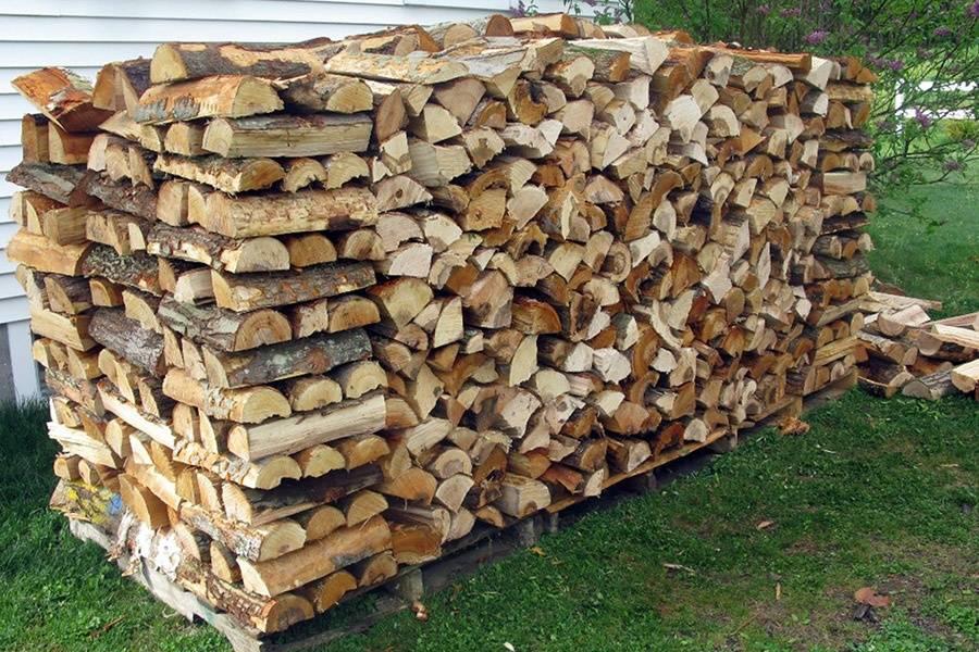 Правила и способы хранения дров