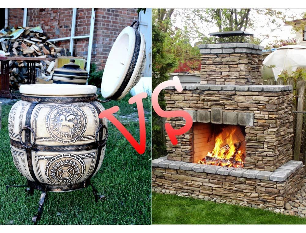 Что лучше – тандыр или мангал с барбекю?